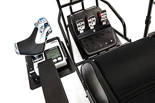 Volair Sim Universal Flight or Racing Simulation Cockpit Chassis with Triple Monitor Mounts 6
