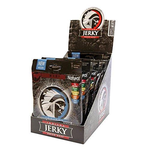 Indiana Jerky Beef Jerky Natural (10x25g) 1 Unidad 250 g
