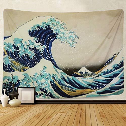Amkun, Arazzo, Da parete, Stampa della Grande onda di Kanagawa, Decorazione domestica, Per il...
