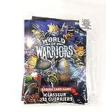 Cartes à collectionner World of warriors Le kit de démarrage inclut 1 classeur de rangement, 1 guide de jeu, 1 tapis de jeu et 1 paquet de cartes WOW dont une carte rare.