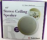 Radioshack 6 1/2' Stereo Ceiling Speaker