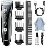 Tondeuse Cheveux Hommes Professionnelle, DynaBliss HG4100 Tondeuse Barbe et...
