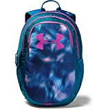 Under Armour Unisex Scrimmage Backpack 2.0, Teal Vibe (417)/Optic Purple, One Size Fits All