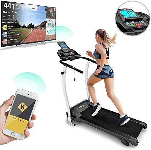 Bluefin Fitness Kick 2.0, Innovativo Tapis roulant ad Alta velocit. Unisex-Adulto, Nero, High-Speed...