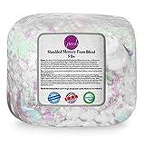 Posh Beanbags Refll Foam Filling, Shredded 5lbs, Multi-Color