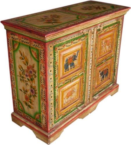 Guru-Shop Petto Verniciata dei Cassetti (JH8-328), 80x100x40 cm, Cassettiere e Credenze