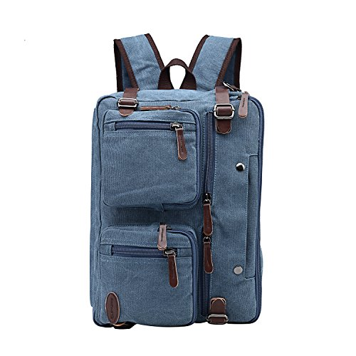 Laptop Briefcase,15.6 Inch Messenger Bag Hybrid Pack...
