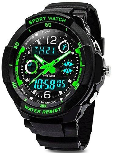 Digitale orologi per bambini ragazzi - 50 m impermeabile sport all' aria aperta orologio analogico...