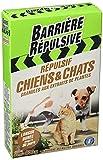 BARRIERE REPULSIVE Répulsif Chiens et Chats, Extérieur, Jusqu'à 80 m², 400...