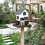 Casette per Uccelli Mangiatoia for uccelli all'aperto verticale della casetta for uccelli del cortile del giardino inglese dell'uccello for la piccola mangiatoia for uccelli Birdhouse decorazione crea