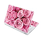 """MightySkins Skin Compatible with Acer Chromebook 15 15.6"""" (2017) - Pink Roses   Protective, Durable, and Unique Vinyl Decal wrap Cover   Easy to Apply, Remove, and Change Styles   Made in The USA"""