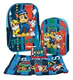 Paw Patrol Teamwork - Juego de maletas para niños (4 piezas, incluye bolsa con ruedas)