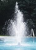 Ocean Blue Water Products Grecian Swimming Pool Fountain for Above and Below Ground Swimming Pools
