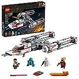LEGO-Star Wars Y-Wing Starfighter de la Résistance Jouet Enfant à Partir de 8 ans, 578 Pièces à Construire 75249