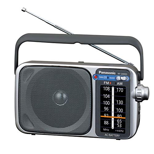 Panasonic Portable AM / FM Radio, Battery Operated Analog...