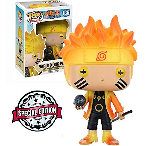 Funko Pop Anime: Hot Topic Naruto (Six Path)