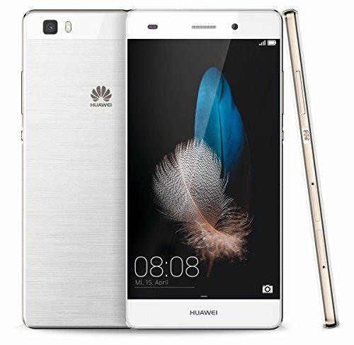 Huawei P8 Lite Double SIM 4G 16Go Blanc - smartphones (12,7 cm (5'), 16 Go, 13 MP, Android, 5.0, Blanc)
