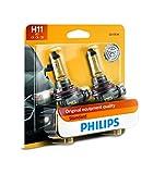 PHILIPS - 12362B2 Philips H11 Standard Halogen Replacement Headlight Bulb, 2 Pack