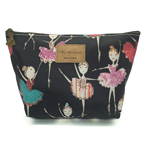 HUNGER Ballet Girl Make-Up Cosmetic Tote Bag Carry Case , 14...