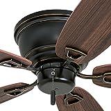Honeywell Ceiling Fans 50516-01 Glen Alden Ceiling Fan, 52', Oil Rubbed Bronze