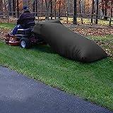 MAYTHON Lawn Tractor Grass Catcher Bag Leaf Bag Capacity 54 Cubic Feet Black