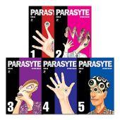 Coleção parasyte - volumes 1 ao 5