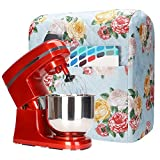 Stand Mixer Cover, Stand Mixer Attachments Cover with Pockets,Kitchenaid Mixer Cover Compatible with 5-8 Quart Quart Kitchenaid Stand Mixer, Hamilton Mixers,Fits All Tilt Head & Bowl Lift Models