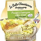 La Belle Chaurienne Poulet à l'Estragon/Pâtes Torsades 300 g