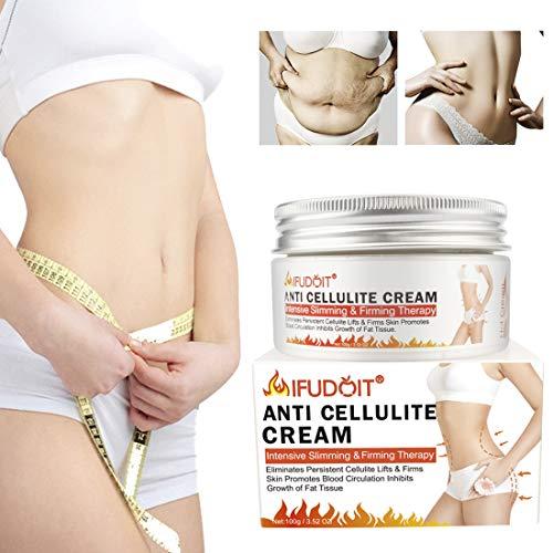 Fat Burning Cream for Belly, Body Anti-Cellulite Cream, Hot Cream Cellulite Treatment, Slimming Cream, Waist Training Cream, Weight Loss Cream for Men and Women, Workout Enhancer for Women-Men120ml 1