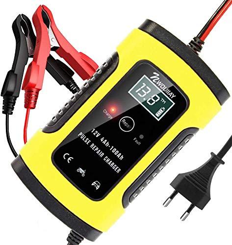 NWOUIIAY Autobatterie Ladegerät 6A/12V Batterieladegerät Auto...