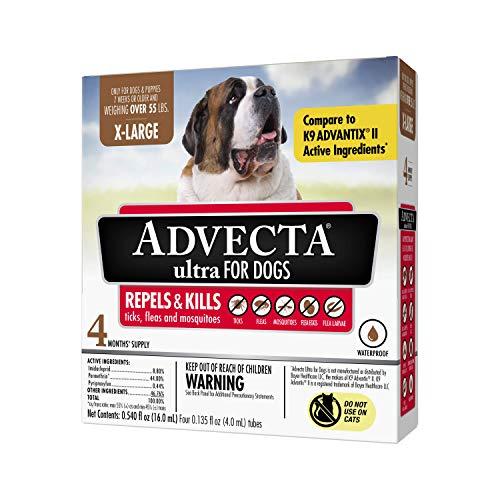 Advecta Ultra Flea and Tick Topical Treatment,...