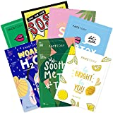 FaceTory Best of Seven Facial Masks Collection - Hydrate, Brighten,...