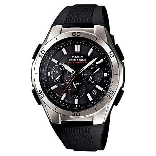 [カシオ] 腕時計 ウェーブセプター 電波ソーラー WVQ-M410-1AJF ブラック