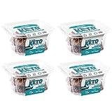 Keto Cookies - LOW CARB - SUGAR FREE & GLUTEN FREE - CHOCOLATE Keto Cookies | (4) 6oz Tubs of 10 Cookies Each | Healthy Diabetic, Paleo, Desserts Sweets, Diet Foods