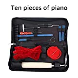 Piano Tuning Kits, UMsky Piano Tuning Tools Including Tuning Hammer Mute Wrench Hammer Handle Kit Tools and Case for Tuner