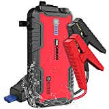 GOOLOO Jump Starter Battery Pack - 1500A Peak Jump Box,Water-Resistant Car Battery Booster for Up to 8.0L Gas or 6.0L Diesel Engines,12V Car Jumper Starter Portable with QC 3.0,Type C Port