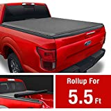 MaxMate Soft Roll Up Truck Bed Tonneau Cover Compatible with 2009-2014 Ford F-150   Styleside 5.5' Bed