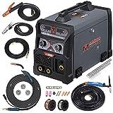 MTS-205 205 Amp MIG/TIG-Torch/Stick Arc Combo Welder, Weld Aluminum(MIG) 110/230V Dual Voltage Welding New