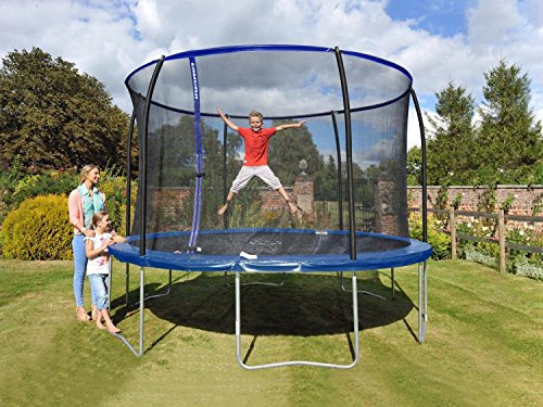 Sportspower Trampolin Gartentrampolin Set 366cm 150kg TÜV/GS innenliegendes Netz