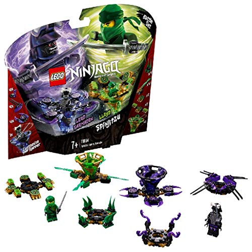 LEGO Ninjago - Lloyd contro Garmadon Spinjitzu, 70664