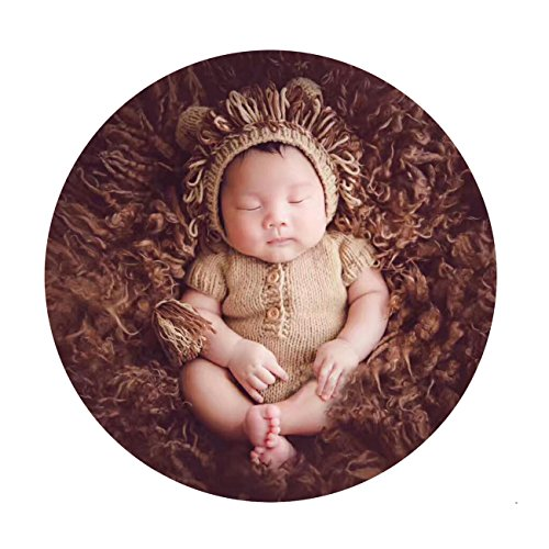 M&G House Newborn Photography Props Lion Costume Baby Photo Shoot...