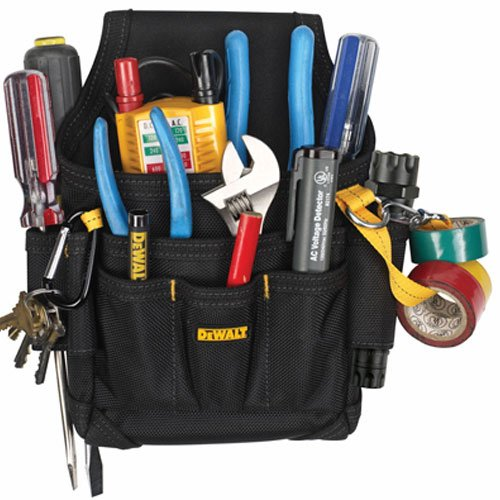 DEWALT DG5103 Small Durable Maintenance and Electrician's Pouch with...