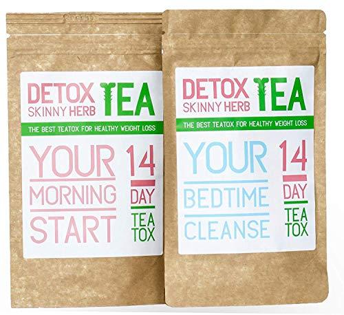 14 Days Teatox: Detox Skinny Herb Tea - Detox Skinny Herb Tea - Effective Detox Tea, Support Natural Weight Loss Tea, 100% NATURAL 1
