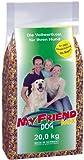 bosch My Friend Mix | Alimento para perros adultos de todas las razas | Mezcla de croquetas equilibradas con copos | 20 kg
