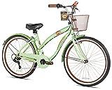 Margaritaville Coast Is Clear Women's Beach Cruiser Bike, 26-Inch