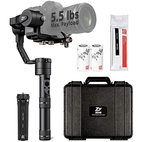 ZHIYUN CRANE PLUS [UFFICIALE] (CRANE V2 Upgrade Ver 2018) 3-Axis Handheld Gimbal Camera Stabilizer...