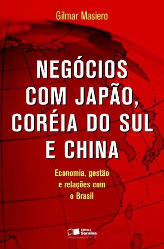 Negócios com japão, coréia do sul e china