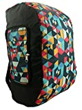 Foldable Backpack Duffel Bag Convertible Lightweight Gym Bag 2 in 1 Day Pack Black