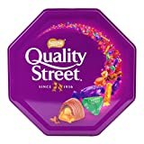 NESTLE QUALITY STREET offers 12 iconic sweets including milk and dark chocolates and toffees tightly wrapped like sparkling jewels to create more magic moments for you and your family A FLAVOR FOR EVERYONE: Delicious flavors like the Purple One, Gree...
