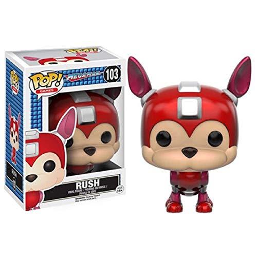 Boneco Mega Man Rush Funko Pop!